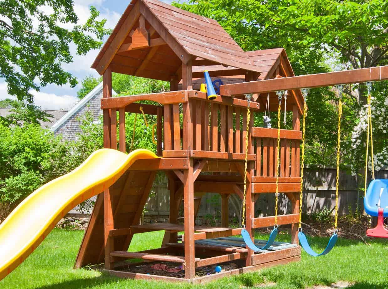 Big Backyard Cedarbrook Wood Swing Set Reviews